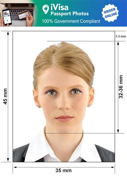 bosnia and herzegovina passport photo requirement and size