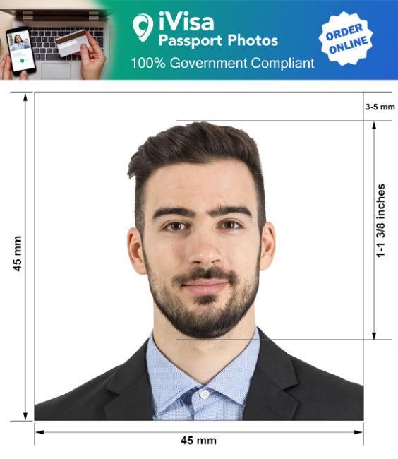 chili passport photo requirement and size