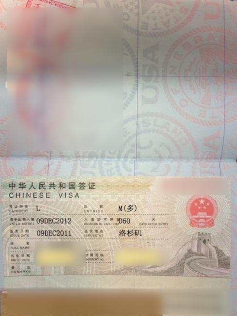 China Visa For U S Passport Holders