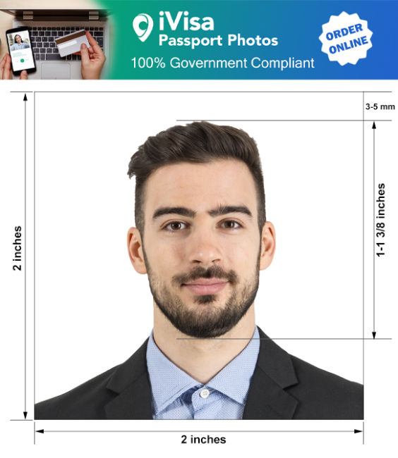 costa rica passport photo requirement and size