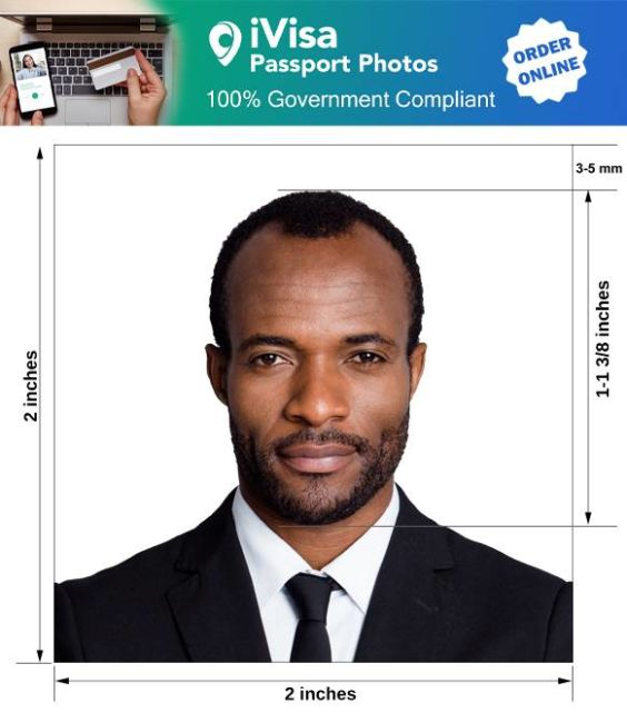 cuba passport photo requirement and size