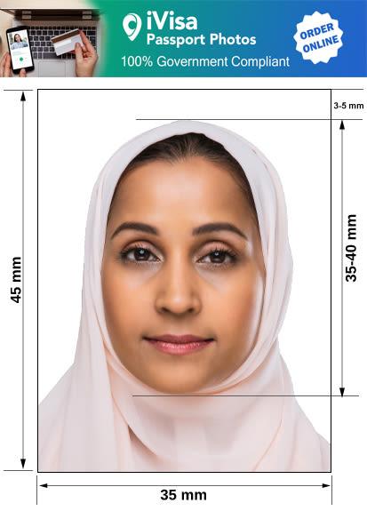 lebanon passport photo requirement and size