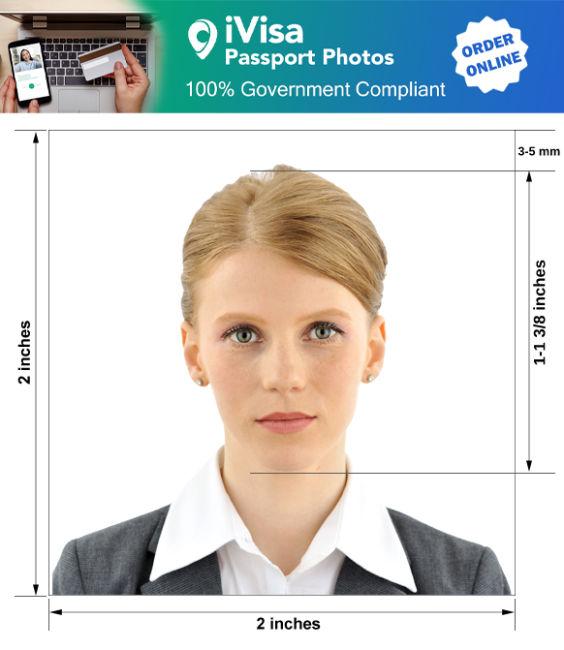 macedonia passport photo requirement and size