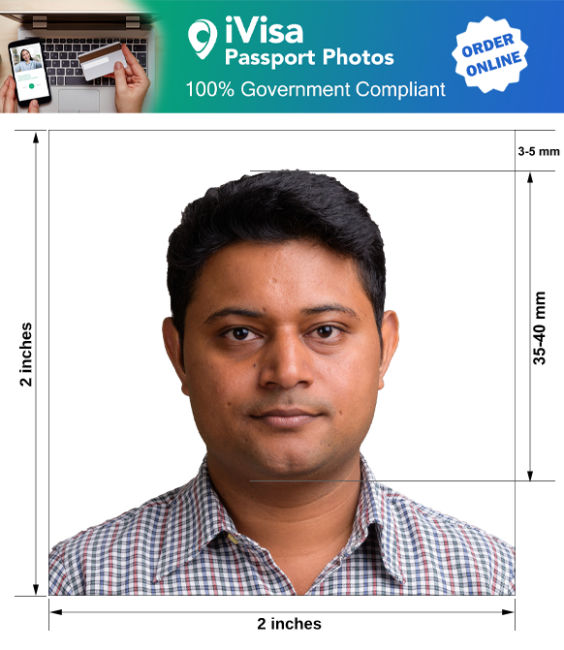 pakistan passport photo requirement and size