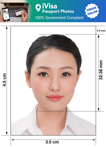 paraguay passport photo requirement and size