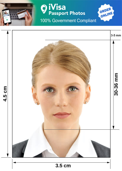 poland passport photo requirement and size