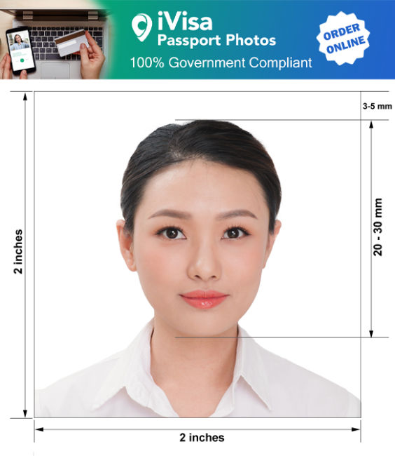 tonga passport photo requirement and size