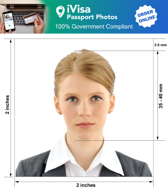 united states of america passport photo requirement and size